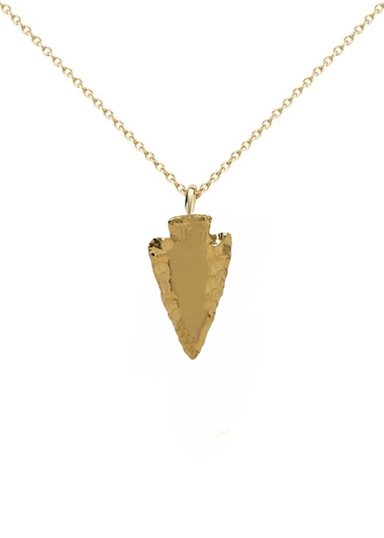 Traveler collection arrowhead necklace alternate views aloadofball Choice Image